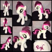 MLP 10 inch Roseluck Plushie  - EFNW 2016 by RubioWolf