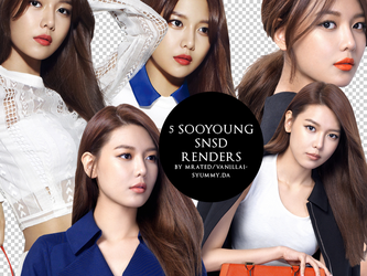 HQ RENDER / PNG : Sooyoung of SNSD for Magazine M by vanillaisyummy