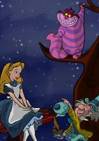Alice in Wonderland by whiteypro