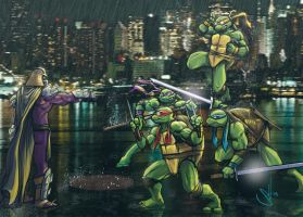 Ninja Turtles Drawing by Scott See by scottssketches