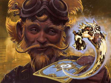 Hearthstone art contest 2014 by KrisCooper