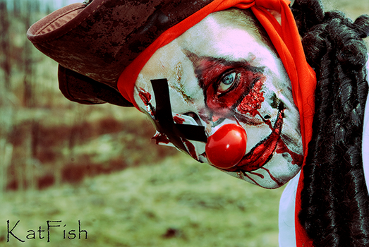My other clown 2 by Ironwi11