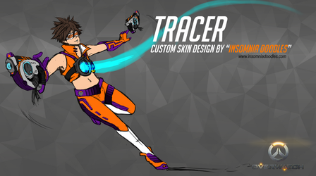 Tracer New Skin Concept by InsomniaDoodles
