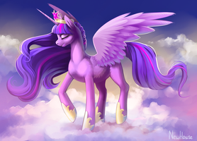 The Princess of Friendship (MLP, Twilight Sparkle) by New-House