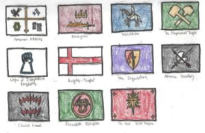 Fantasy Country Flags (Colored) by DWestmoore