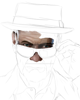 Walter White, WIP by TheUnknownStrangers