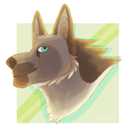 maybe opening headshot comissions like this one?? by Ser-wolf