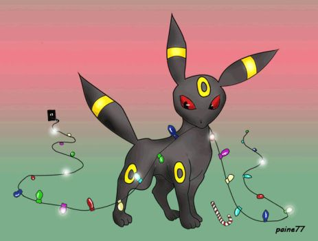 Umbreon's Xmas Pt. 2 by Paine77
