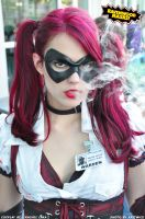 Harley Quinn at Comic Con by Alyssa-Ravenwood