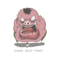 002 - Cake - Glut- tony by SEEZ85