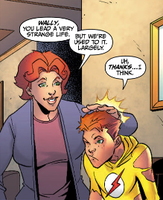 Kid Flash and Family from YJ by LongShot-L