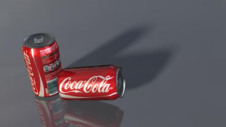 3D model: Coke Cans by dwayned3