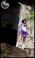 Sailor Saturn - The Guardian by DarkMoonProject