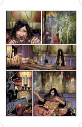 The Witcher House of Glass # 4 pg. 06 by realcabz