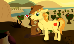 Suggestive Braeburn by InflatedSnake