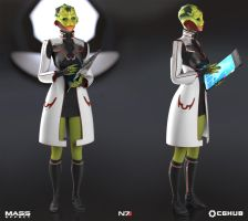 Drell medic presentation shot by monkibase