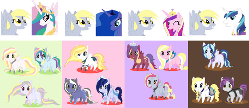 Shipping Foal Adopts for OnigiriA- CLOSED by DoodleBug-Adoptable