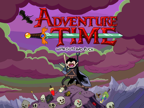 Adventure Time with Guts and Puck by theEyZmaster