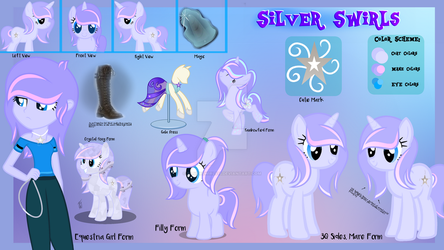 Silver Swirls Complete Reference by SilverSwirls15