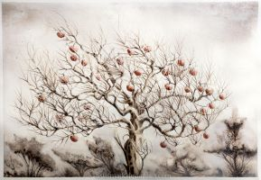 The Apple Tree by Tistelmark
