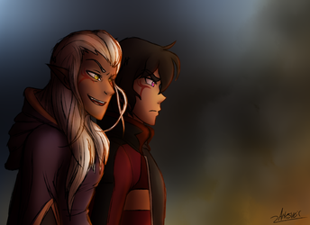 VLD|Klance|Lion King 2 AU|The Plans in Motion by ArtesVeil