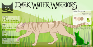 Hazelnose of Windclan by Chordata-Flyer
