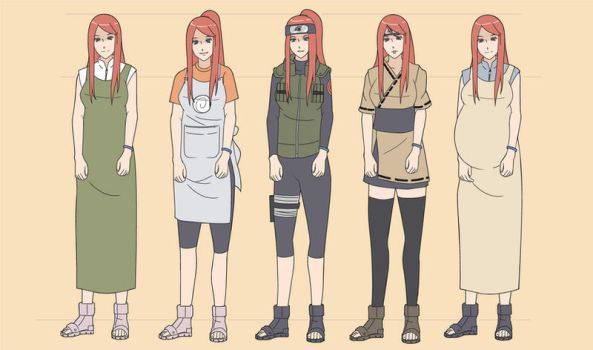 Kushina that we love part.1 by indy-riquez