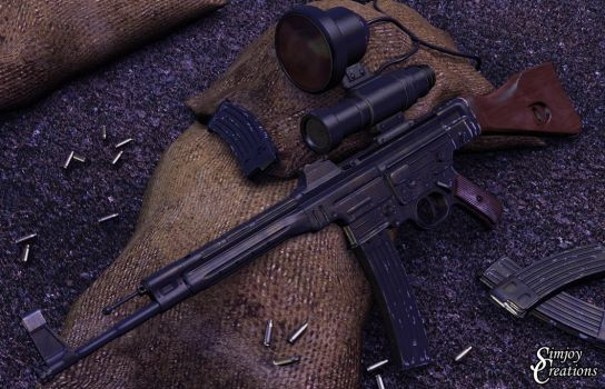 MP44 Assault rifle by simjoy