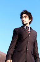 Tony Stark (Avengers)- I'm your nuclear deterrent. by four-leaf-charm