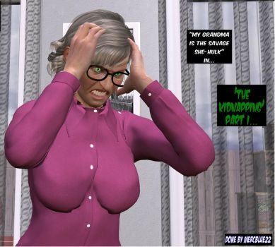 My Grandma is a Savage She-Hulk TF 1 by mercblue22