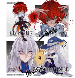 [Adopt Auction] Little Monsters 2 (CLOSED) by AriaRozen