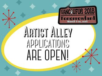 Artist Alley Applications are OPEN! by Vancoufur