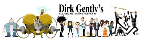 Dirk Gently's Holistic Detective Agency by JerseyHellboy