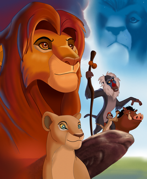 The Lion King 3D Cover Redraw by TickTockTheBoomBunny