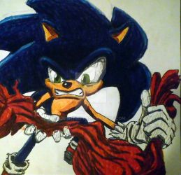Sonic 176 Drawing by Joshtrip1