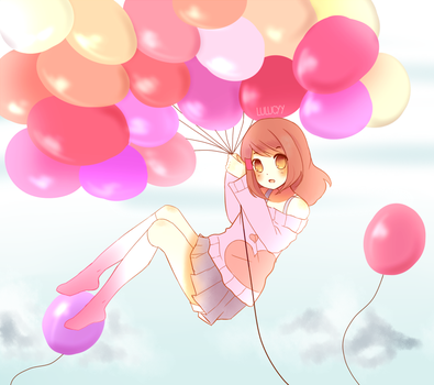 Balloon Challenge by lulucyy