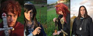 Hogwarts Founders -youth- by Aoi-Berry