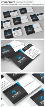 Corporate Business Card - RA83 by respinarte