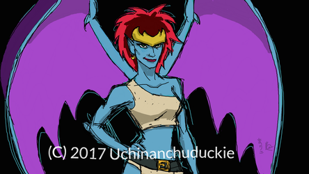 Demona DA Muro by UchinanchuDuckie
