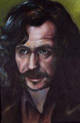 Gary Oldman as Sirius Black by sullen-skrewt