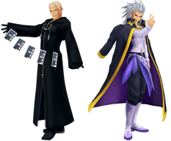 Luxord and Setzer by Domnitro