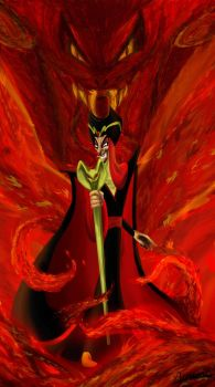coming jafar from the fire by ao-ume