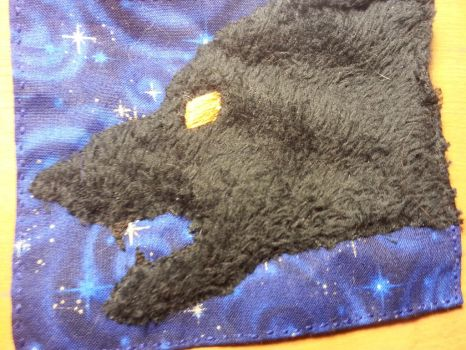 Dr Who Quilt - Wolf Patch by purplekittykatgal