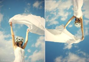 picnic on the sky by Becso