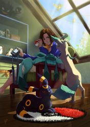 Chill with Eevee's by Yuushin7