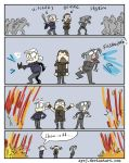 The Witcher 3, doodles 324 by Ayej