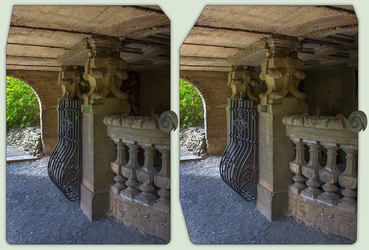Crypt 3-D / CrossEye / Stereoscopy / HDR / Raw by zour