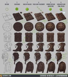 Exercise 49: Leatherworking Step by Step by CGCookie