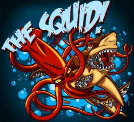 THE SQUID Logo by KidThink