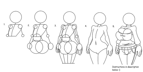 Tutorial on How to Draw Smexy Ladies by warnerk
